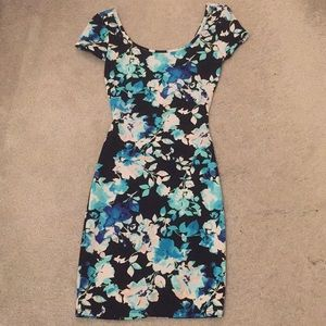 Charlotte Russe floral mini dress